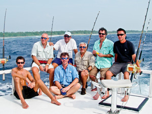 Fly Fishing for sailfish in the Bahamas